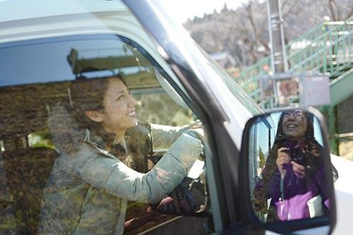 恋の三陸 列車コンで行こう!ハービー・山口さん撮影の松下奈緒さん
