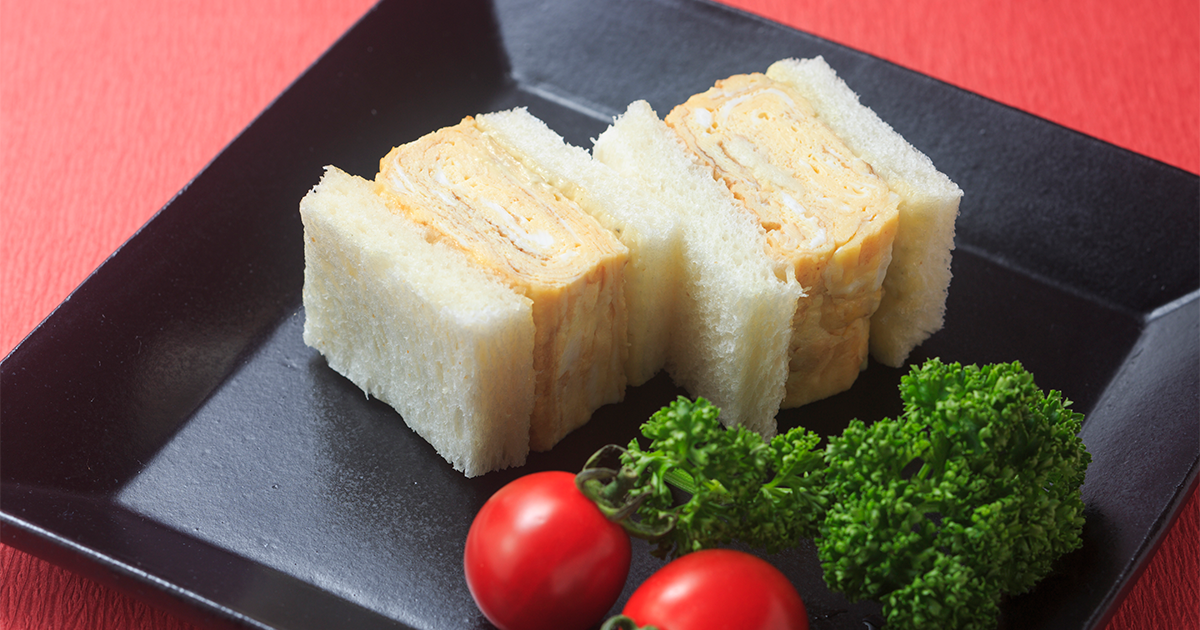 Tamagoyaki Sandwich Recipes Dining With The Chef Nhk