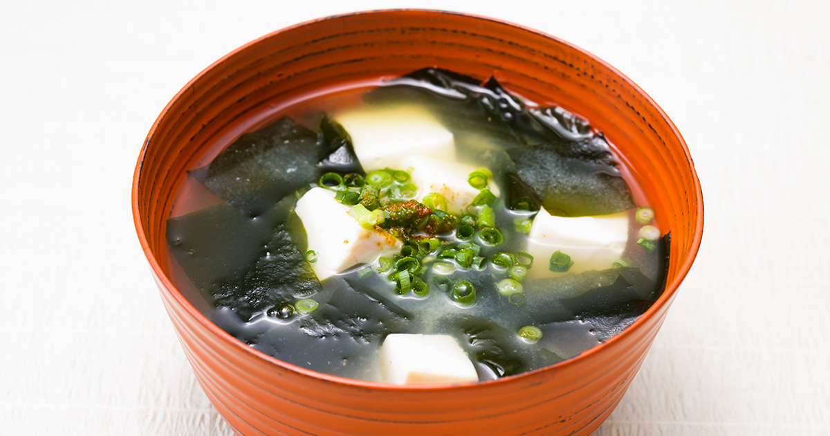 Tofu And Wakame Miso Soup Recipes Dining With The Chef