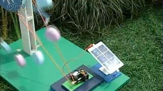 光の当て方と光電池のはたらき