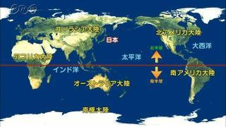 世界の大陸と海洋