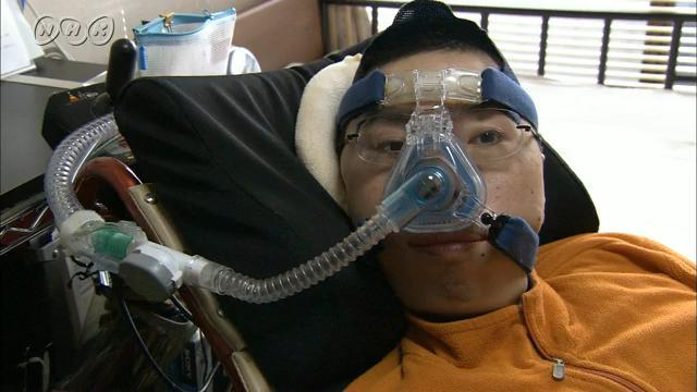 サムネイル:人工呼吸器が電源喪失