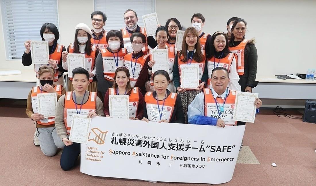 外国人の防災チーム、札幌で結成!   芳川 隆一   NHK北海道