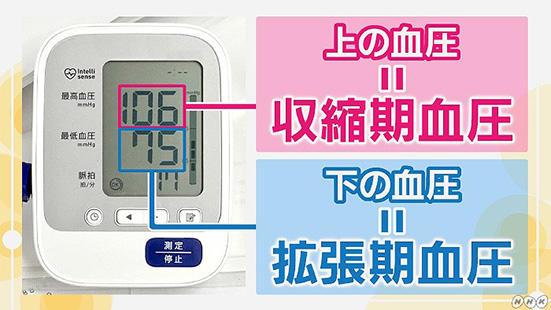 収縮期血圧&拡張期血圧