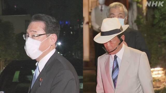 大臣 マスク 麻生